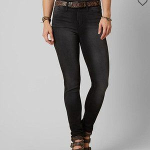 BUCKLE Gilded Intent Black High Rise Skinny Jeans